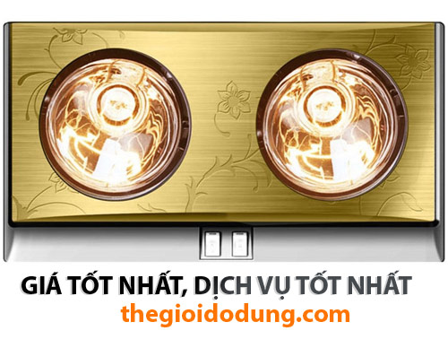 Đèn sưởi nhà tắm 2 bóng Kottmann K2B-G