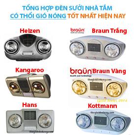 Đèn sưởi 2 bóng có thổi gió Braun, Hans, Heizen, Kottmann, Kangaroo ava