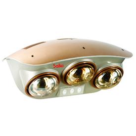 Đèn sưởi nhà tắm Saiko 3 bóng hồng ngoại BH-825H ava