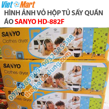 tu-may-say-quan-ao-sanyo-hd-882f-inox-2-tang-co-dieu-khien
