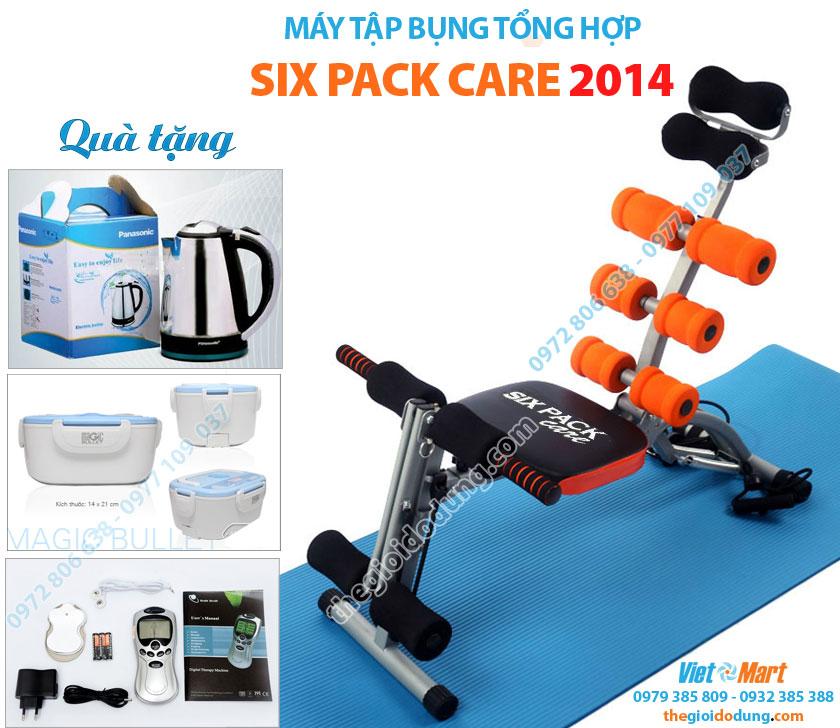 Quà Khuyến mại tặng kèm máy tập cơ bụng Six Pack Care