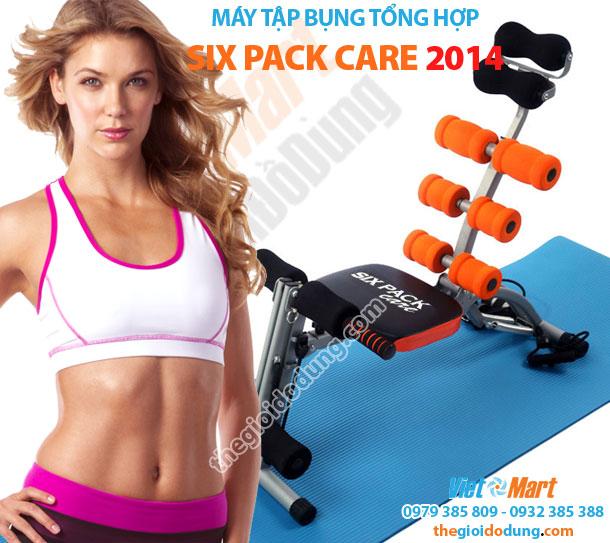 Máy tập cơ bụng tổng hợp Six Pack Care 2014 giúp cơ thể cân đối