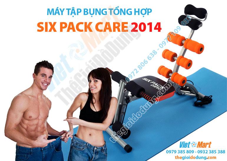 Máy tập cơ bụng tổng hợp Six Pack Care 2014 giúp cơ thể thon gọn bất ngờ