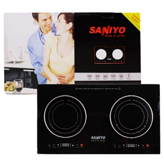 Bếp đôi từ hồng ngoại Saniyo FH2 ava