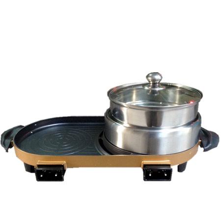 Thiết kế tiện ích bếp lẩu nướng Happycall JSL22