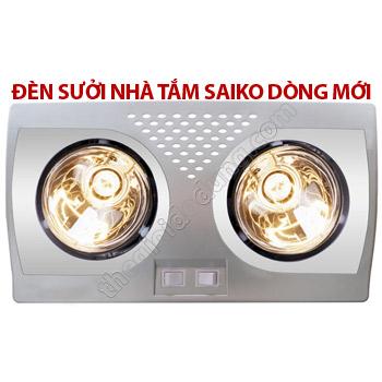 Đèn treo nhà tắm Saiko 2 bóng mới ava