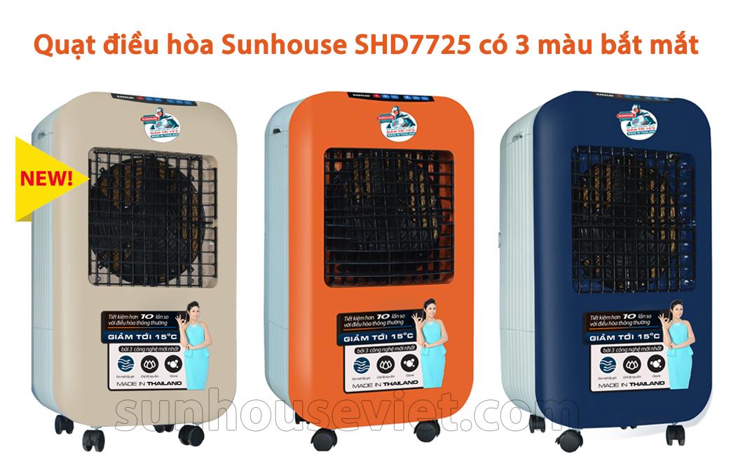 Quạt điều hòa Sunhouse SHD-7725