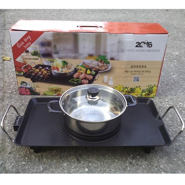Bếp nướng điện không khói Queens Sony GR 915L