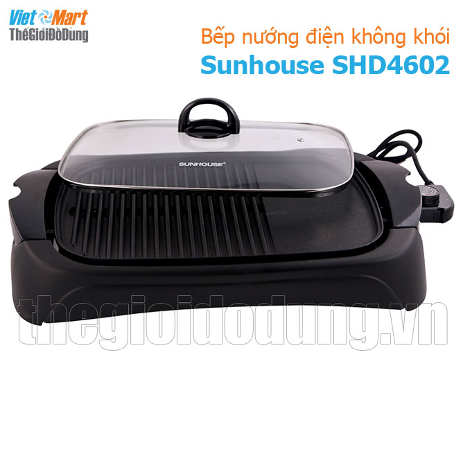 Bếp nướng điện không khói Sunhouse SHD 4602