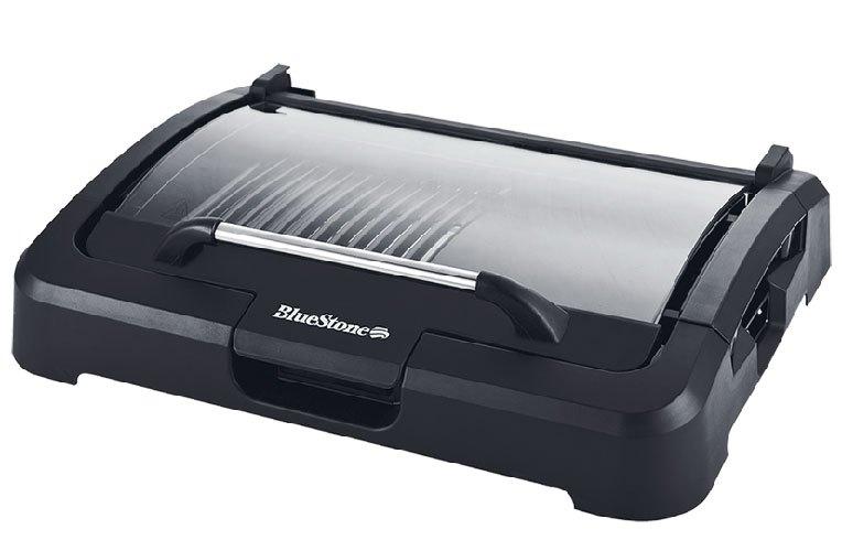 Bếp nướng điện không khói BlueStone EGB-7458 có nắp kính