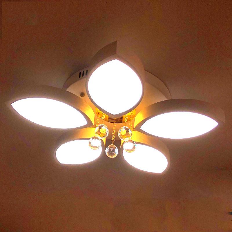 Đèn LED ốp trần trang trí B6 5 cánh hoa