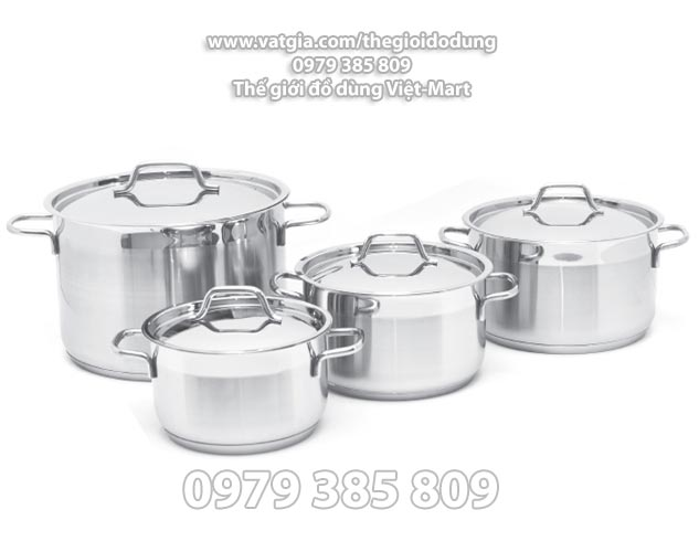 Bộ nồi inox cao cấp Vancover dùng với mọi loại bếp