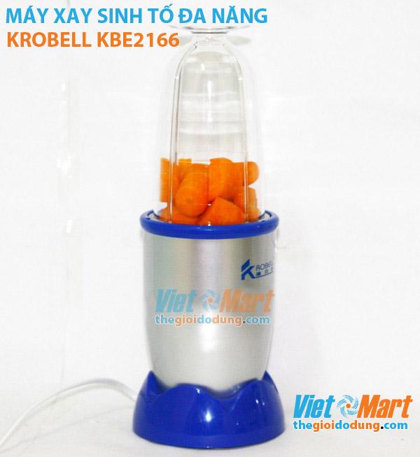 Máy xay sinh tố Krobell KBE2166 trước khi xay