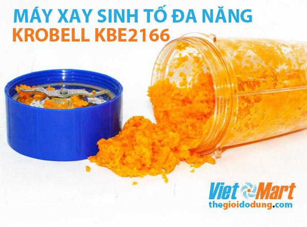 Máy xay sinh tố Krobell KBE-2166 xay nhanh