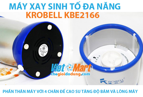 Máy xay sinh tố Krobell KBE2166 - Thân máy