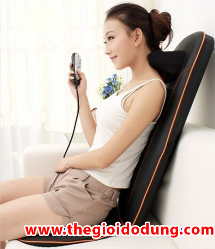 Đệm massage đặt ghế Neck & Back 958PH-C Dem massage dat ghe Neck & Back 958PH-C