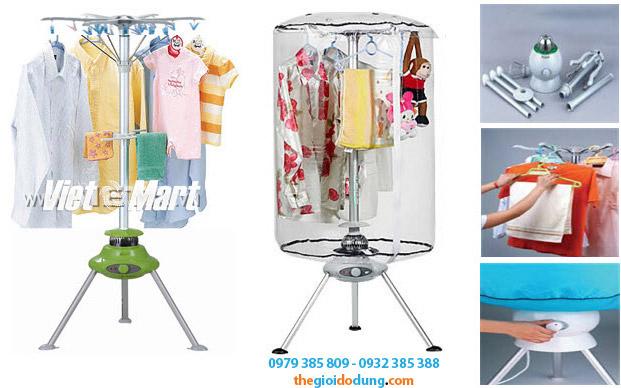 máy sấy khô quần áo Smartlife 05 may-say-quan-ao-diet-khuan-Smartlife-05