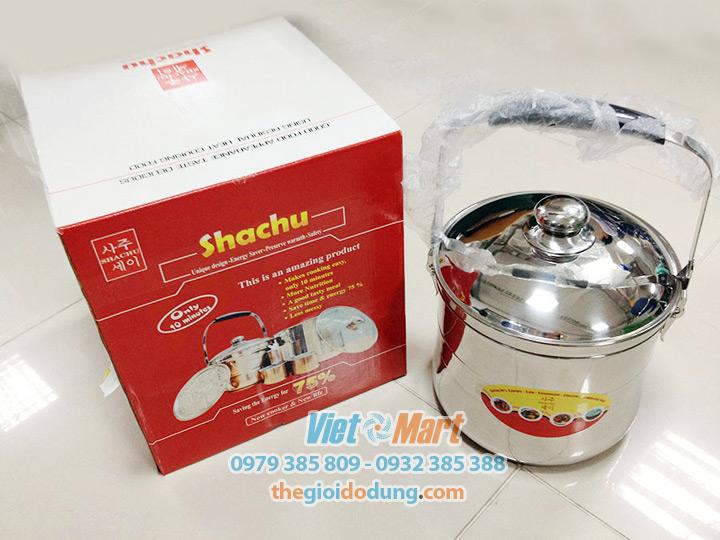 Nồi ủ chân không Shachu 7L Noi u chan khong Shachu 7L