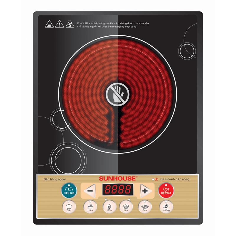 bếp hồng ngoại SUNHOUSE SHD6002 bep hong ngoai SUNHOUSE SHD6002
