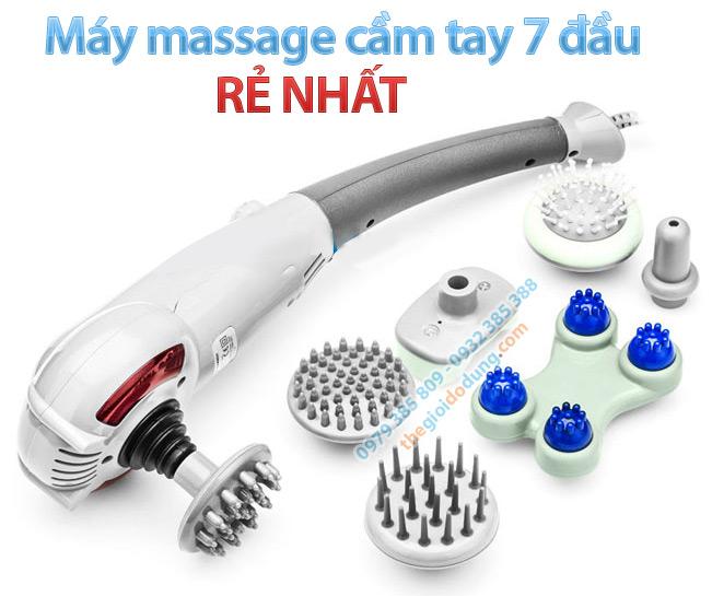 Máy massage cầm tay 7 đầu kiểu đấm lưng rẻ nhất tại thegioidodung.com
