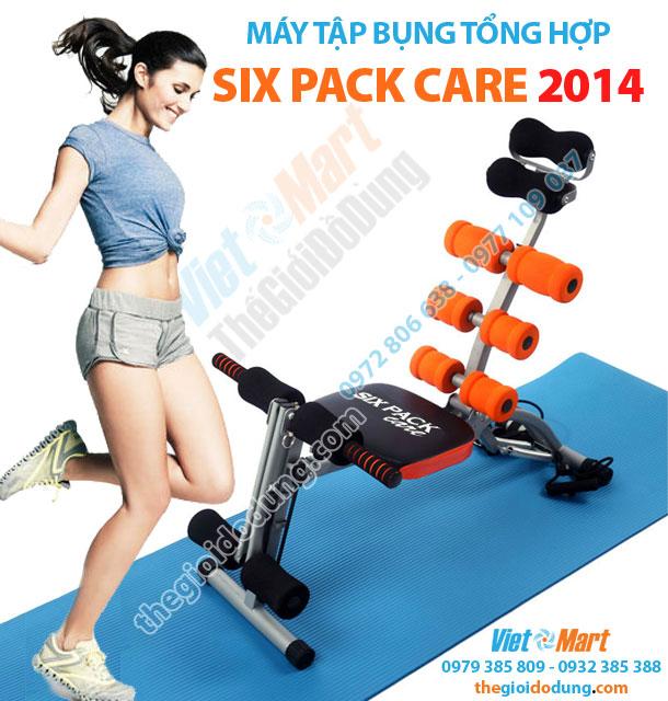 Máy tập cơ bụng tổng hợp Six Pack Care 2014 giúp giảm stress
