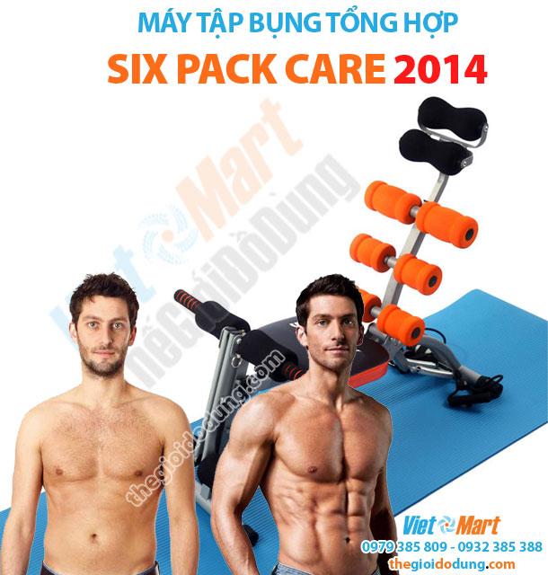 Máy tập cơ bụng tổng hợp Six Pack Care 2014 tăng cường sức khỏe