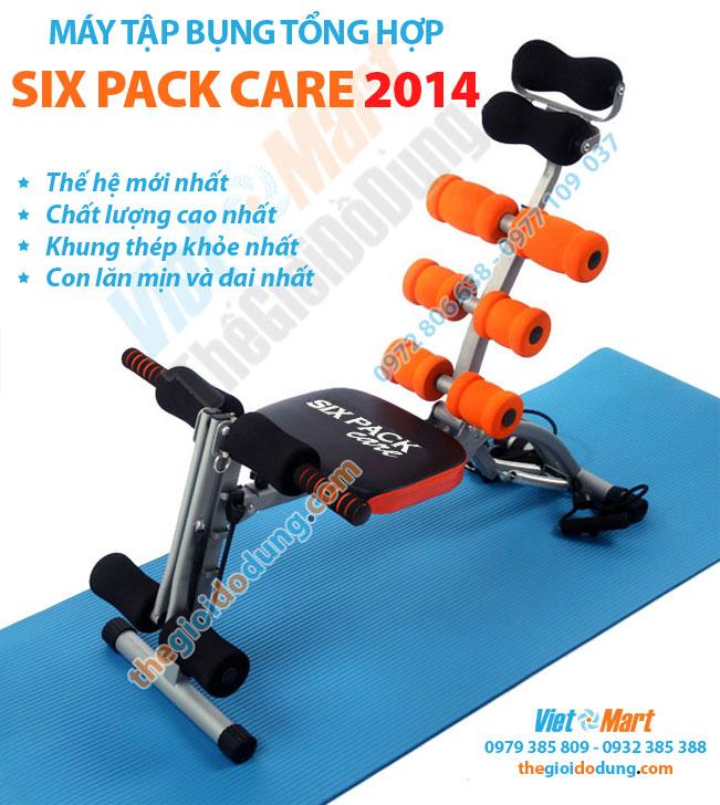 Máy tập cơ bụng tổng hợp Six Pack Care 2014 mới nhất