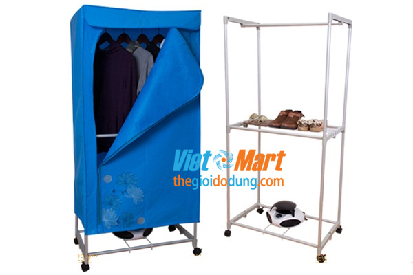 Tủ sấy quần áo Puasan GY008F3 vuông