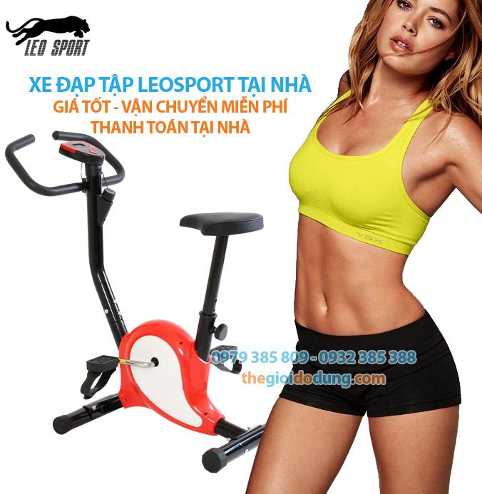 Đi xe đap tập thể dục tại nhà giúp Bạn rèn luyện sức khỏe dẻo dai và một dáng vóc cân đối