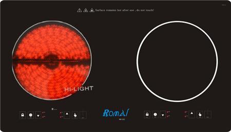 Bếp đôi điện từ Romal RIE-11C