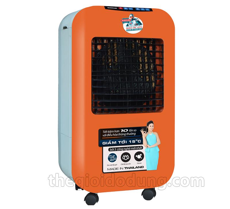 Quạt điều hòa sunhouse shd 7725 màu cam