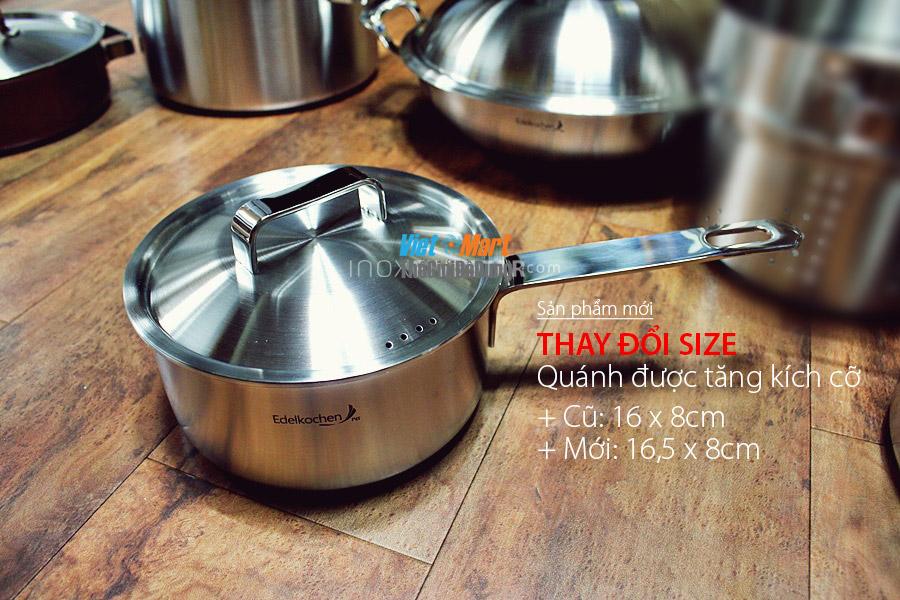 bộ nồi inox dùng cho bếp từ